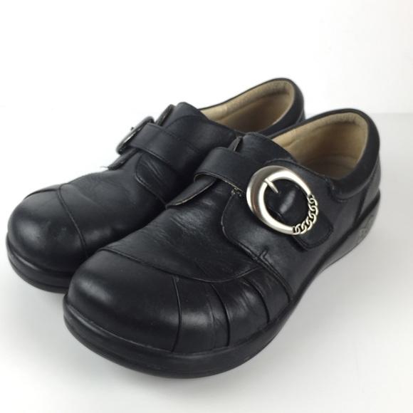 f192a656243 Alegria Shoes - ALEGRIA Khloe Black Nappa Leather Shoes 40 9.5 10